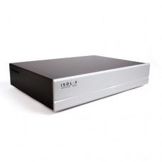 Isol-8 Minisub WAVE (1вход /6 выходов) Silver faceplate. Сетевой фильтр. Цвет серебристый.