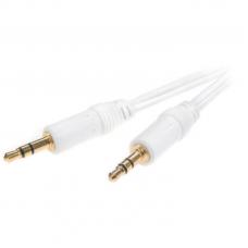 31007.MS A1 08W. Аудио , стерео кабель 3.5мм(штырь) - 3.5мм(штырь), 0.8м, золоченый,  (для MP3 плеера)