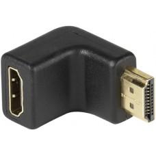 47085.47/14 03. Угловой адаптер HDMI (гнездо) - HDMI (штырь)