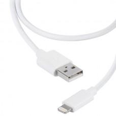 36298. LIGHTNVVUSBCABLE02. Кабель USB - lightning, 0.2м, белый