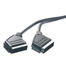 42001.VK 17-N. Видео, стерео кабель, SCART-SCART,21 pin, 1.5 м - (5182)
