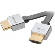 32037.SIP HDUF 1420. Высокоскоростной HDMI кабель с Ethernet, 2 м, плоский, ультратонкий (Premium)