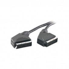 19360.PS VK 18. Видео, стерео кабель,  SCART-SCART, 21 pin, 3.0 м, без упак.