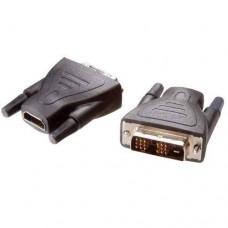 42074.HDDV 11-N. Адаптер HDMI (гнездо) - DVI (штырь) - (18461)