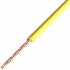 Провод ПГВА REXANT 1х0.50 мм², Cu, желтый, бухта 500 м