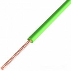 Провод ПГВА REXANT 1х0.50 мм², Cu, зеленый, бухта 500 м