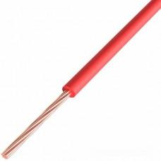Провод ПГВА REXANT 1х0.50 мм², Cu, красный, бухта 500 м