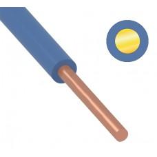 Провод ПуВ (ПВ-1)  6 мм² 200 м синий ГОСТ 31947-2012,ТУ 16-705. 501-2010