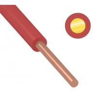 Провод ПуВ (ПВ-1) 1,5 мм² 500 м красный ГОСТ 31947-2012,ТУ 16-705. 501-2010