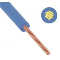 Провод ПуГВ (ПВ-3) 0,5 мм² 1000 м синий ГОСТ 31947-2012,ТУ 16-705. 501-2010
