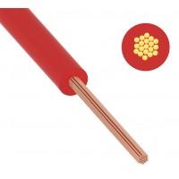 Провод ПуГВ (ПВ-3) 0,5 мм² 1000 м красный ГОСТ 31947-2012,ТУ 16-705. 501-2010