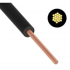 Провод ПуГВ (ПВ-3) 0,5 мм² 1000 м черный ГОСТ 31947-2012,ТУ 16-705. 501-2010