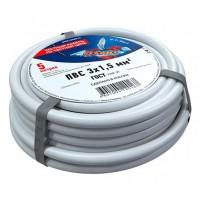 Провод соединительный ПВС 3x1,5 мм², длина 5 метров, ГОСТ 7399-97  REXANT