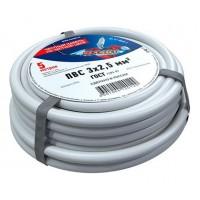 Провод соединительный ПВС 3x2,5 мм², длина 5 метров, ГОСТ 7399-97  REXANT