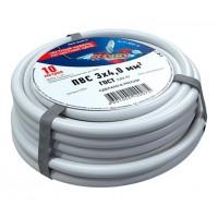 Провод соединительный ПВС 3x4,0 мм², длина 10 метров, ГОСТ 7399-97  REXANT