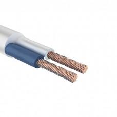 Провод соединительный ПВС 2x2,5 мм² 100 м белый ГОСТ 7399-97