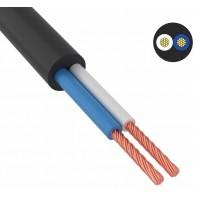 Провод соединительный ПВС 2х0,75 мм² 200 м черный ГОСТ 7399-97