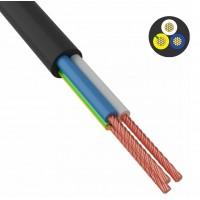 Провод соединительный ПВС 3х0,75 мм² 200 м черный ГОСТ 7399-97