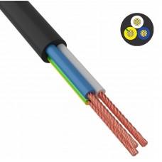 Провод соединительный ПВС 3x1,0 мм² 200 м черный ГОСТ 7399-97