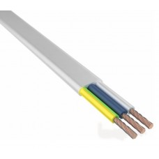 Провод ШВВП 3х0,75 мм² 200 м белый ГОСТ 7399-97