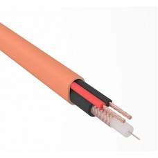 Кабель КВК-В-2+2x0,50 мм² нг(А)-HF (Cu/Cu) оранжевый ø7,0 мм (бухта 200 м) REXANT