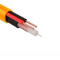 Кабель КВК-В-2+2x0,75 мм² нг(А)-HF (Cu/Cu) оранжевый ø8,0 мм (бухта 200 м) REXANT