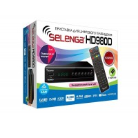 Цифровой телевизионный приемник Selenga HD 980D