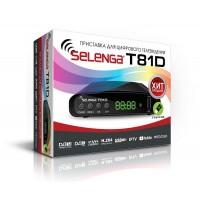 Цифровой эфирный тюнер DVB-T2 SELENGA 81D