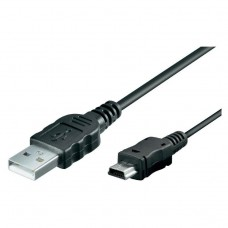 USB-miniUSB  Logan EL 368-0180 1,8 m