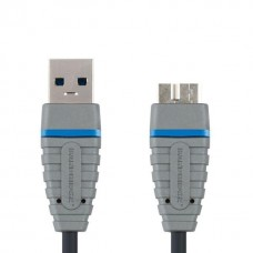 USB-microUSB 3,0 Bandridge BCL5902 2,0м