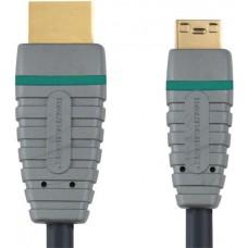 HDMI -mini HDMI 2.0 m Bandridge BVL1502