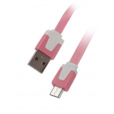 USB-microUSB 2,0 mr.Cable MDU2.AMC.M-01-FT(Pink) 1