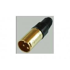 Разъем XLR ШТ  Premier 1-503