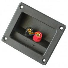 Терминал аудио квадратный пластик на корпус Premier 1-721