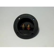 Терминал аудио круглый металл  на корпус Premier 1-727