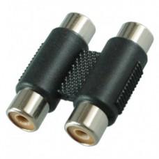 Переходник 2 x RCA (мама) - 2 x RCA (мама) Premier 2-274