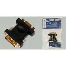 Переходник DVI- VGA (штекер/гнездо) Premier 5-885