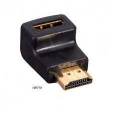 Переходник HDMI-HDMI угловой Premier 5-892