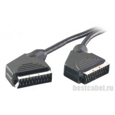 Видео,стерео кабель SCART-SCART 21pin Vivanco 1.5м 42001