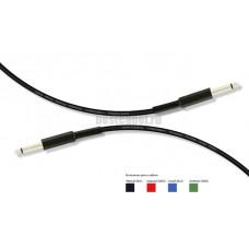 Аудио кабель Jack 6.3 mono-Jack 6.3 mono MrCable AIJ-01-GA 1 метр