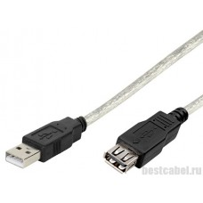 Удлинитель Vivanco 45232 USB 2.0 AM - AF, 1.8 м