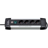 Brennenstuhl 1391000014 Premium-Alu-Line  4 разетки