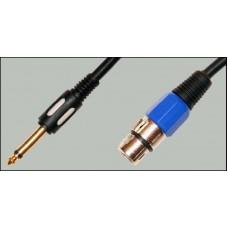 Аудио кабель Jack 6,3 - XLR Premier 5-142/10