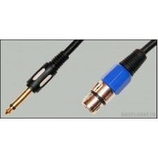 Аудио кабель Jack 6,3 - XLR Premier 5-142/5