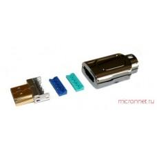 Штекер HDMI на кабель обжимной PREMIER 5-897-1